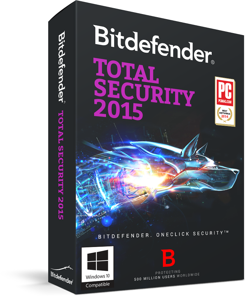 Bitdefender Total Security Multi-Device 2015